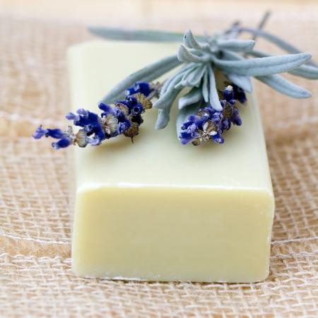 natural soap: bar of natural soap