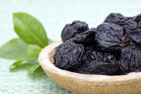 frutos secos: las ciruelas secas