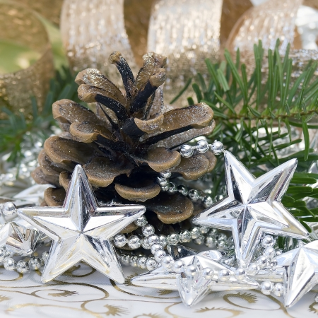 decoraci�n de la Navidad photo