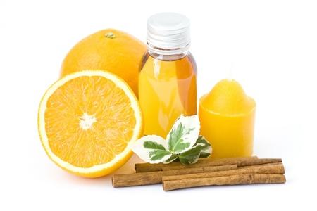 relaxing orange spa