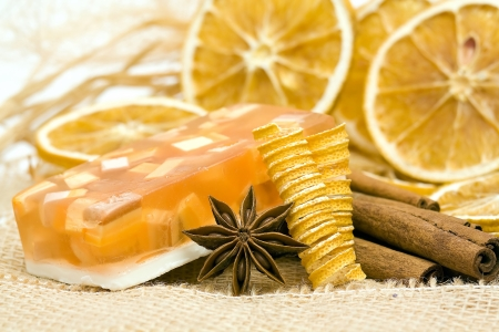 glycerin soap: aromatic glycerin soap