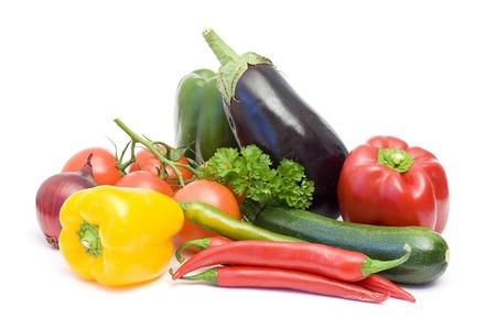 fresh vegetables Standard-Bild