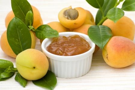 breackfast: apricot jam