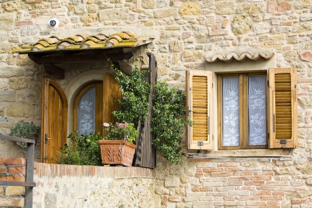 lovely tuscan house photo