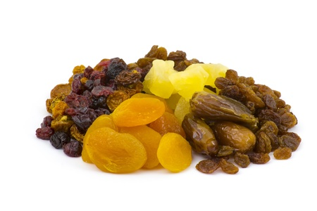 different dried fruits photo