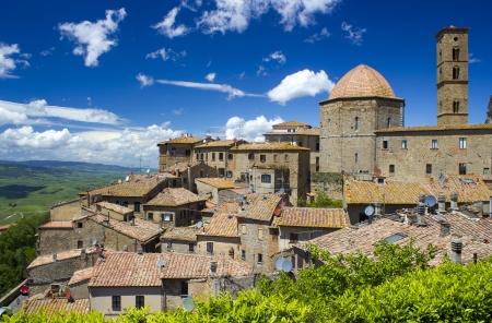 volterra: small town Volterra in Tuscany, Italy  Stock Photo