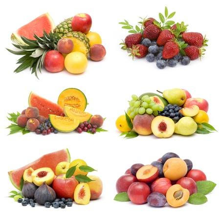 La collecte de fruits frais Banque d'images - 20681251