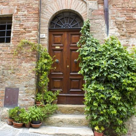 montepulciano: lovely tuscan street, Montepulciano, Italy