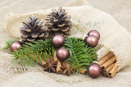 campanas de navidad: decoración de navidad Foto de archivo