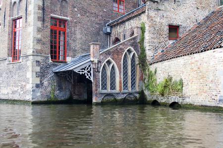 the old St. Johns Hospital in Bruges, Belgium