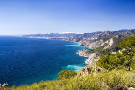Landschap van Andalusië in Spanje