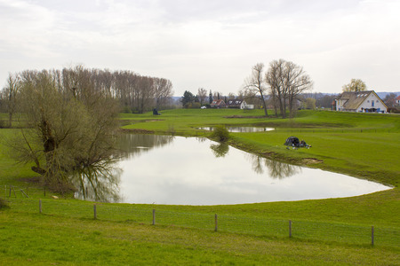 floodplains along the Rhine, Netherlands, Gelderland