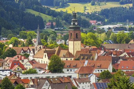 View of Haslach in Black Forest  - Germany, Baden-Wurttemberg