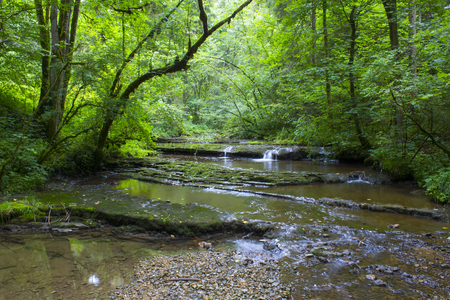 Gauchach Gorge, Black Forest, Germany Stock Photo