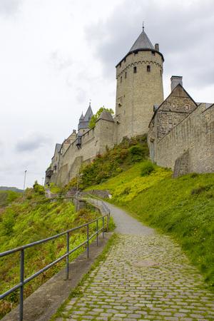 Castle Altena in Sauerland, North Rhine-Westphalia, Germany Editorial
