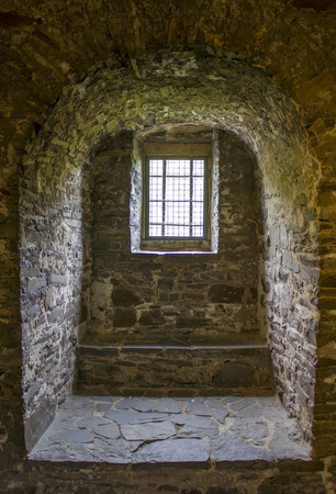 Window - Castle Altena in Sauerland, North Rhine-Westphalia, Germany Editorial