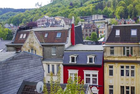 The city of Altena in North Rhine-Westphalia, Germany