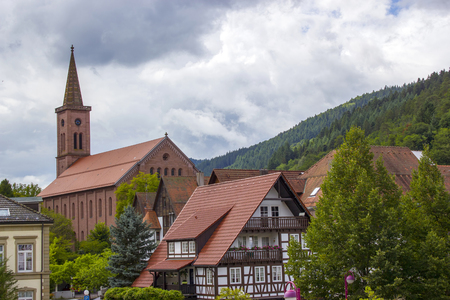 Beautuful Schiltach in Black Forest, Germany