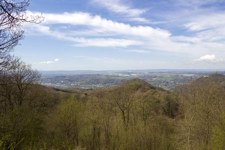 Landscape in Siebengebirge, Germany Stock Photo