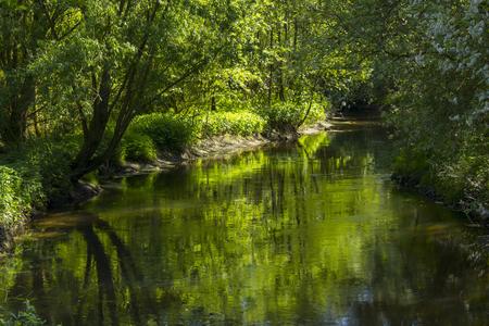 Niers River, Geldern, Germany