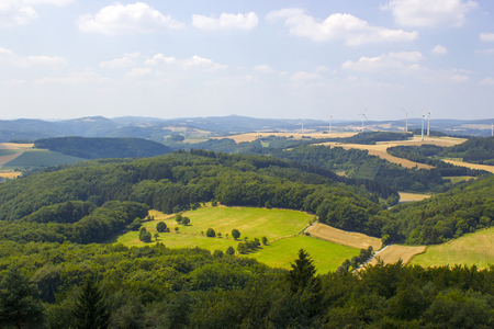 Beautiful landscape in the Eifel in Germany