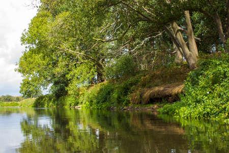 Niers River, Lower Rhine Region, Germany 版權商用圖片