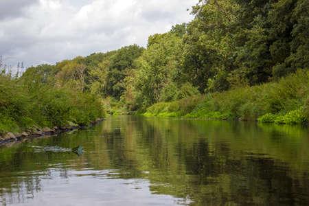 Niers River, Lower Rhine Region, Germany