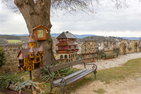 Pitten - collection of bee houses, Alps, Lower Austria, Austria