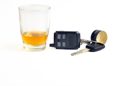 under the influence: Bad idea: driving under the influence of alcohol.