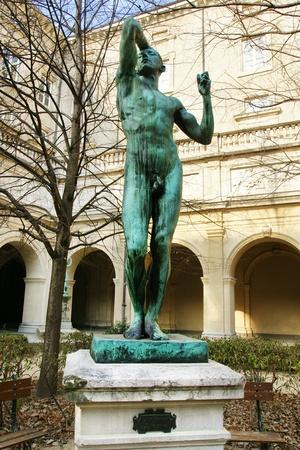 rodin: Beautiful bronze sculpture
