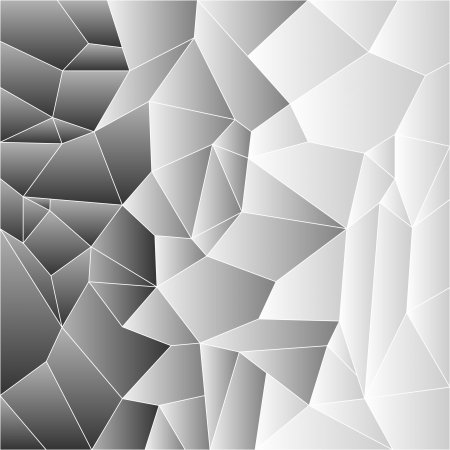 greys: Mosaic tile background in shades of greys