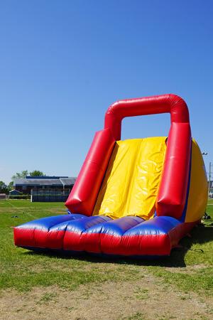 Fun and big inflatable slide for kids