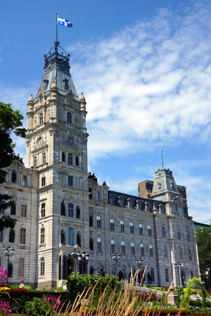 national cultures: Quebec province parliament building Editorial