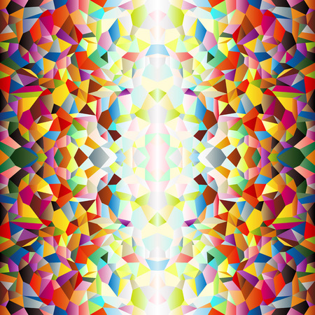 border tile: Mosaic small colorful tile background, fun abstract