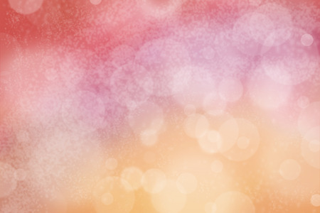 airy: Airy background with bokeh and other lights effect on pink, purple, red and orange
