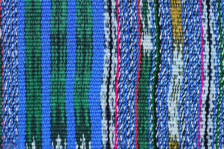 hand woven: Hand woven Mexican cotton textile background