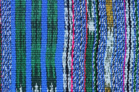 hand woven: Tessuti a mano cotone messicano tessili sfondo Archivio Fotografico