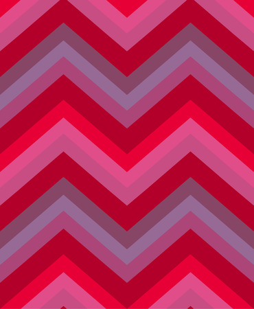 Seamless chevron pattern in red and purple