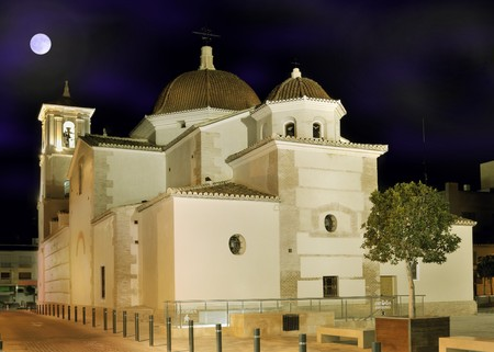 Photo of San Javier Church at Night