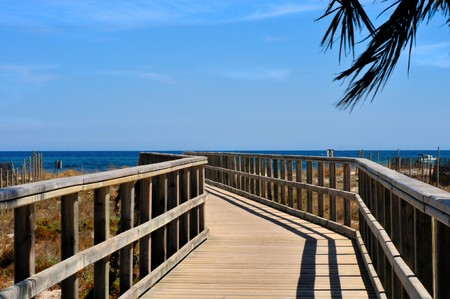Walkway to The Sea