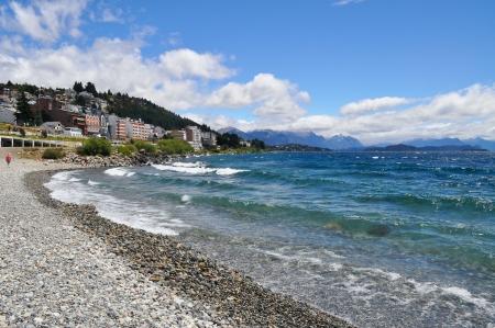 lake nahuel huapi: Lake Nahuel Huapi  San Carlos de Bariloche  Argentina  Stock Photo
