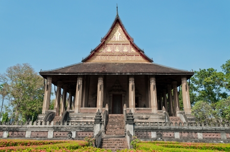 Hor Phakao  Haw Pha Kaew  in Vientiane  Laos  photo