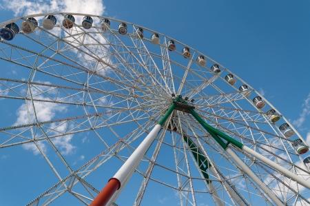 ferriswheel: Ferriswheel in the park  Kazan  Russia Stock Photo