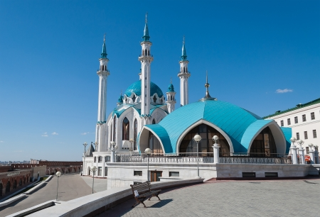 Kul Sharif mosque in Kazan Kremlin  Russia  photo