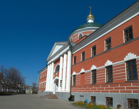 esteemed: Chathedral of the Erection of the Cross in Kazan Bogoroditsky Monastery  Kazan  Russia Stock Photo
