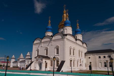 St Sophia-Assumption Cathedral in Tobolsk Kremlin. Siberia. Russia