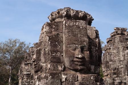 Bayon Temple, Angkor Thom. Cambodia photo