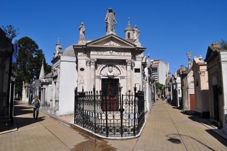 La Recoleta begraafplaats in Buenos Aires Argentinië