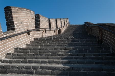 badaling: Great Wall of China  Badaling near Beijing