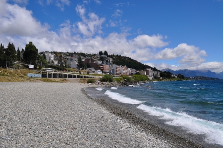 bariloche: Lake Nahuel Huapi  San Carlos de Bariloche  Argentina  Stock Photo